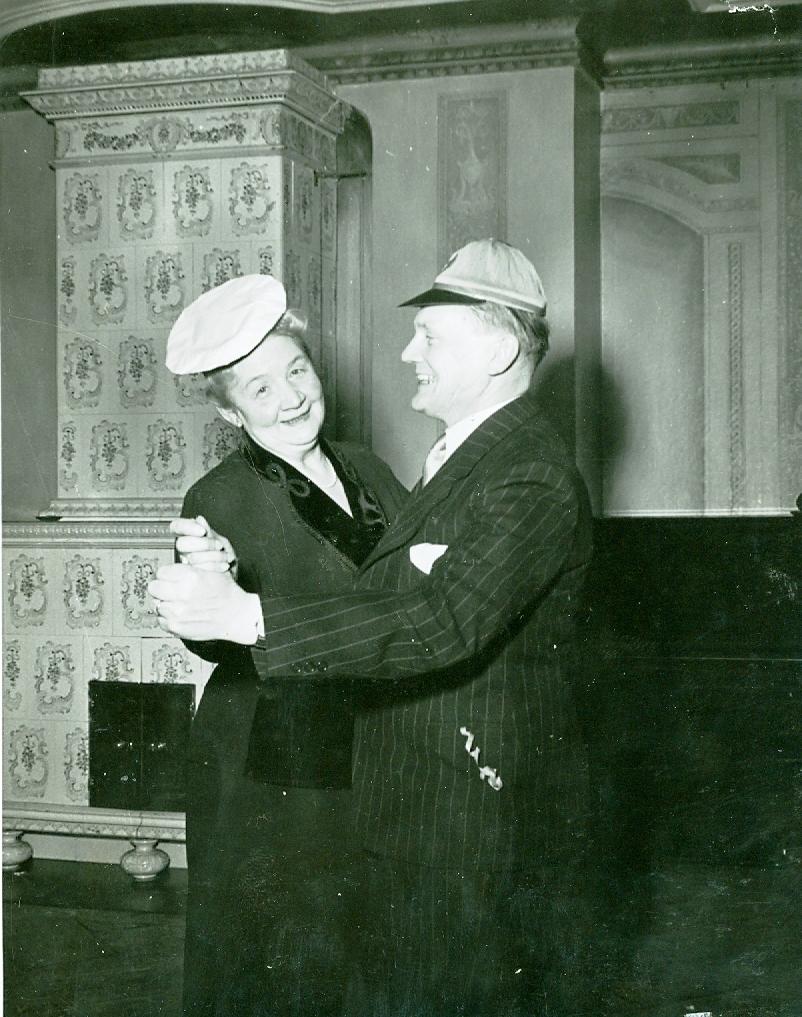 Eric Langborn och Anna Andersson
